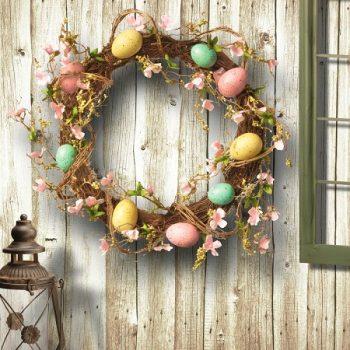 10 Beautiful Easter Door Wreaths – Easter Door Decorations