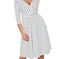 Polka Dot Maternity Dress - Maternity Dresses For Spring