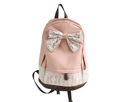 Slimacc new top trendy lace backpack