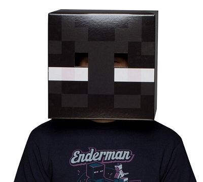 Minecraft Enderman Box Head