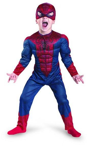 The Amazing Spiderman child costume