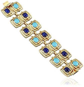 statement jewelry - Ben-Amun Jewelry St. Tropez Link Bracelet