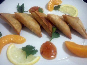 Spicy Beef Samosas