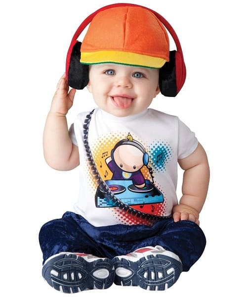 DJ Hip Hop Beats Baby Costume
