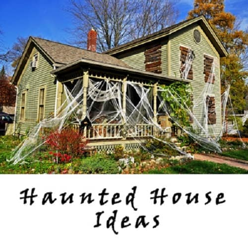 Halloween Haunted House Ideas - Haunted house theme ideas and decorations for Halloween