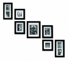 Pinnacle Frames and Accents 7-Piece Photo Frame Set