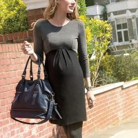 Seraphine Maternity Dress with Empire Line