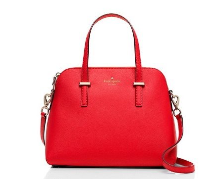 kate spade new york Cedar Street Maise Satchel with 3 interior pocket and detachable shoulder strap