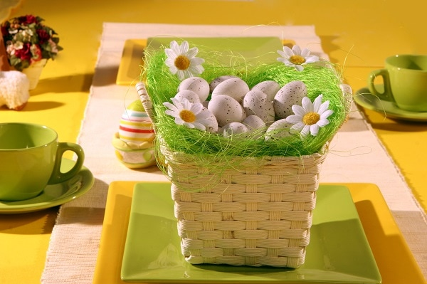 Easter Table Decorations | Easter Decor Ideas #EasterDecor