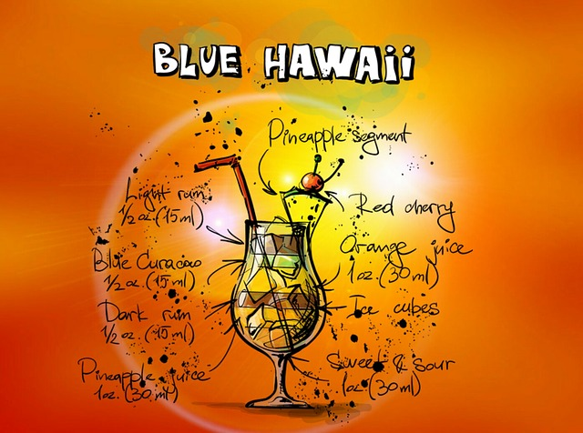 Blue Hawaii cocktail recipe