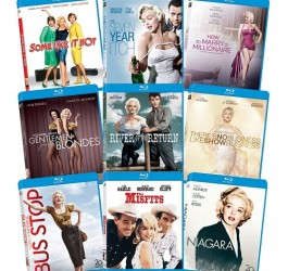 amazon deal of the day 20150728 Marilyn Monroe Blu-Ray Collection