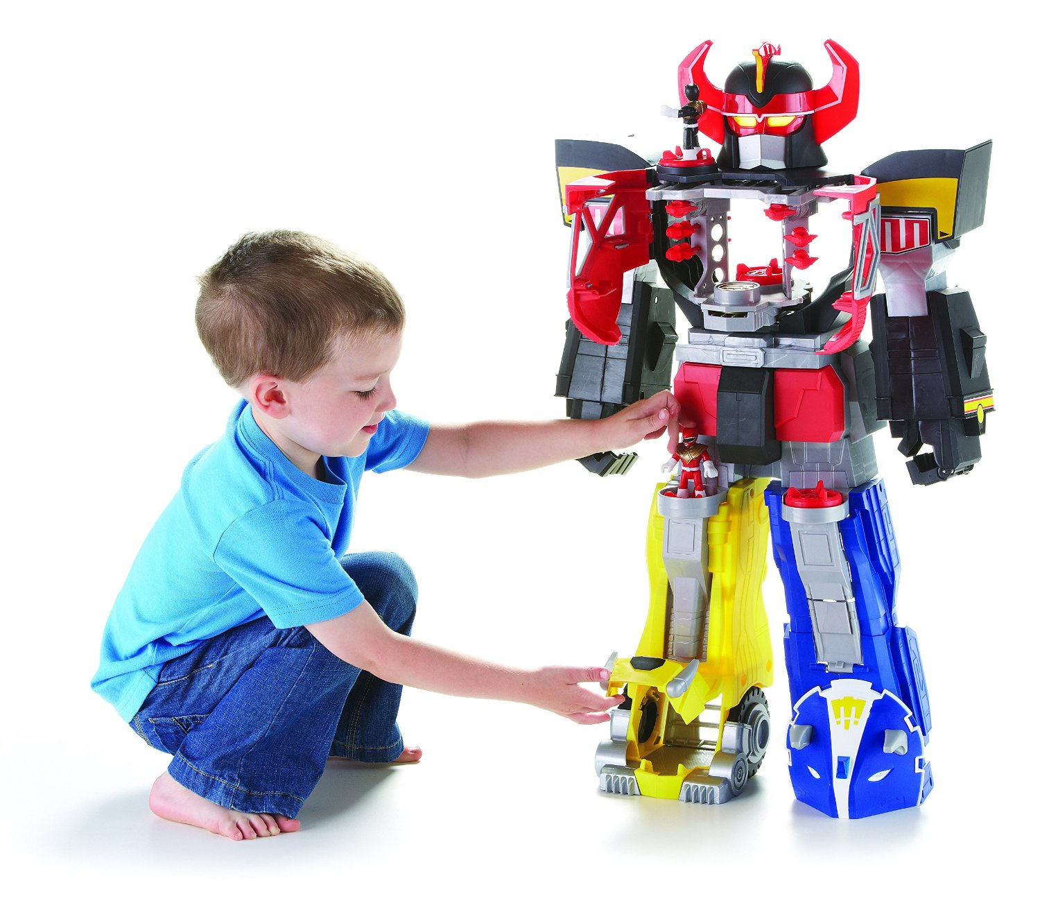 Fisher-Price Imaginext Power Rangers Morphin Megazord ...