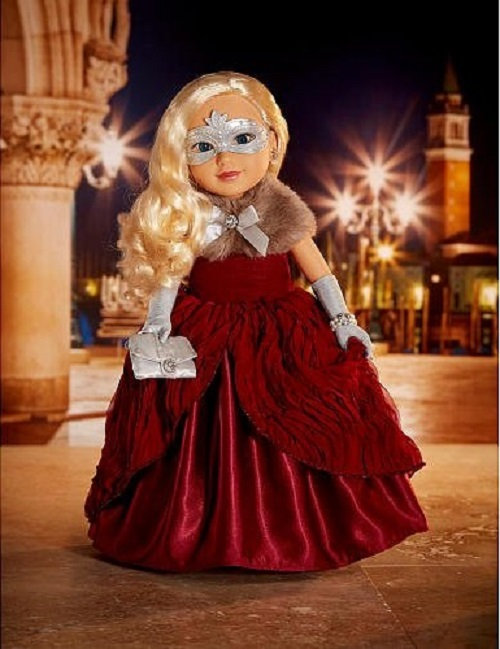 Journey Girls 2015 Italy Holiday Doll