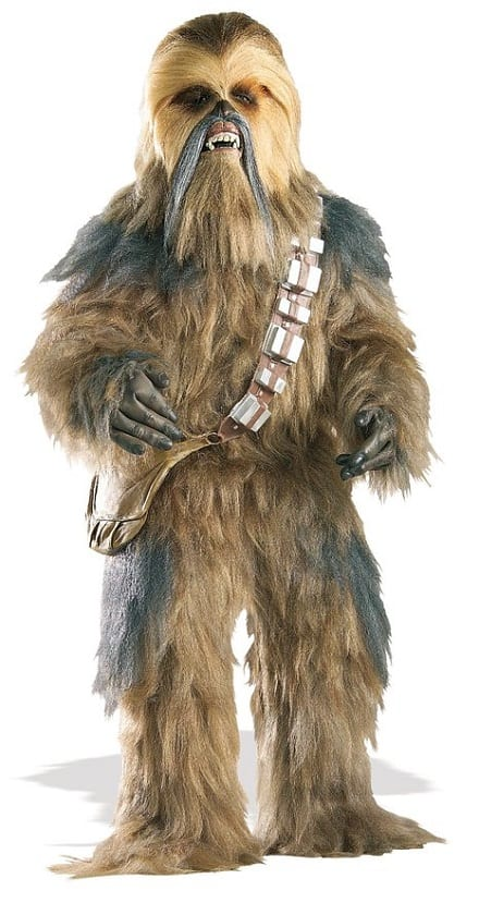 Star Wars Collector Supreme Edition Episode III Chewbacca Costume