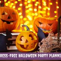 stress free Halloween party planning