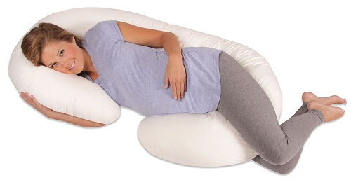 Christmas gifts for pregnant women Leachco Snoogle Total Body Pillow