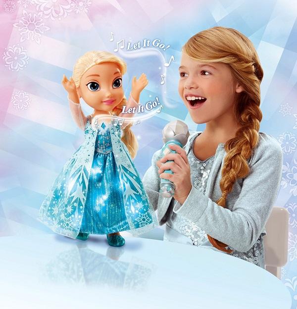 Frozen SingALong Elsa Doll