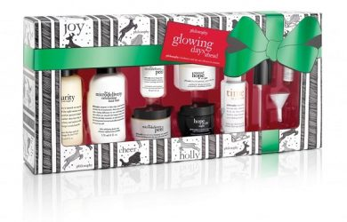 philosophy holiday gift sets 2015 glowing days ahead