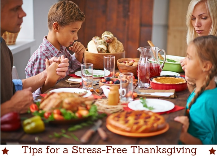 stress-free thanksgiving