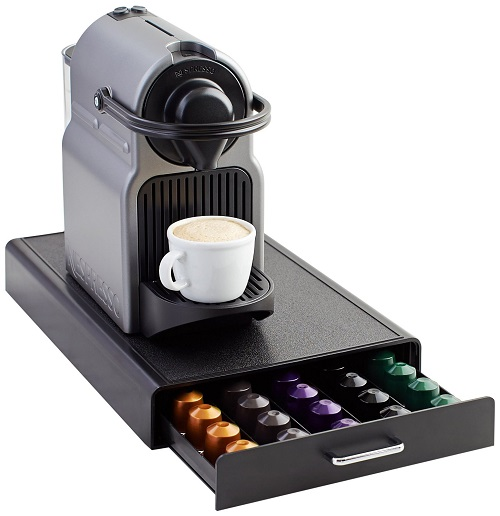 nespresso pod storage drawer