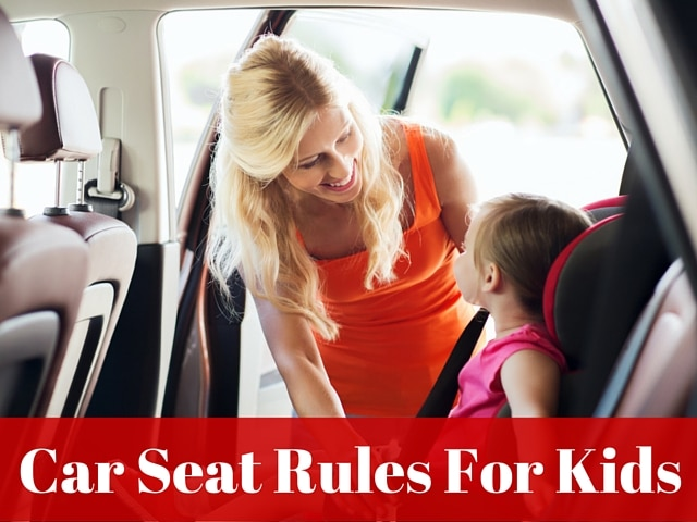 Car Seat Rules For Kids