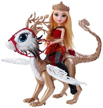 Ever After High Apple White Doll and Braebyrn Dragon Review