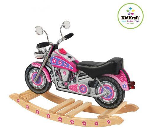 KidKraft Girl's Flower Power Motorcycle Rocking Horse
