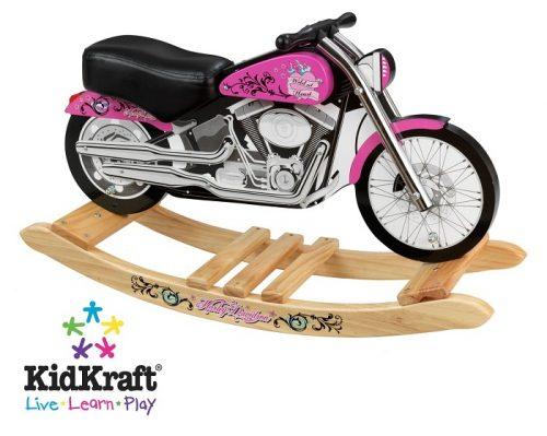 KidKraft Harley Davidson Pink Motorcycle rocking horse