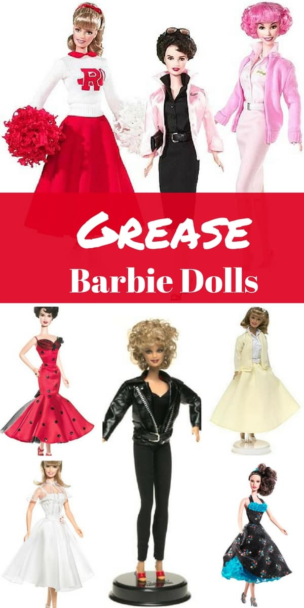 Grease Barbie Dolls Grease Movie Gifts Mommy Today