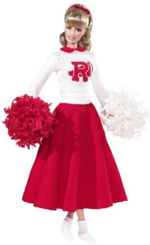 grease sandy barbie doll cheerleader oufit
