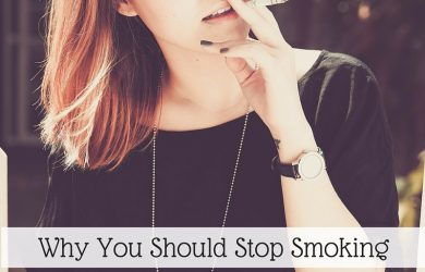 why you should stop smoking