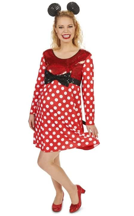 Maternity Minnie Mouse Costume