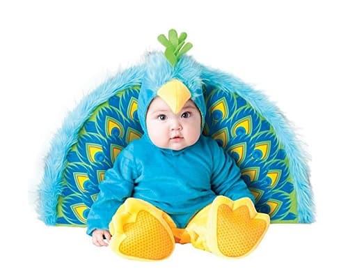 Peacock Baby Halloween Costume