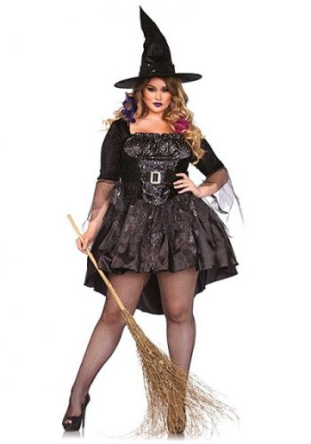 Women's Plus-Size Black Magic Mistress