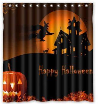 Halloween Pumpkin Shower Curtains