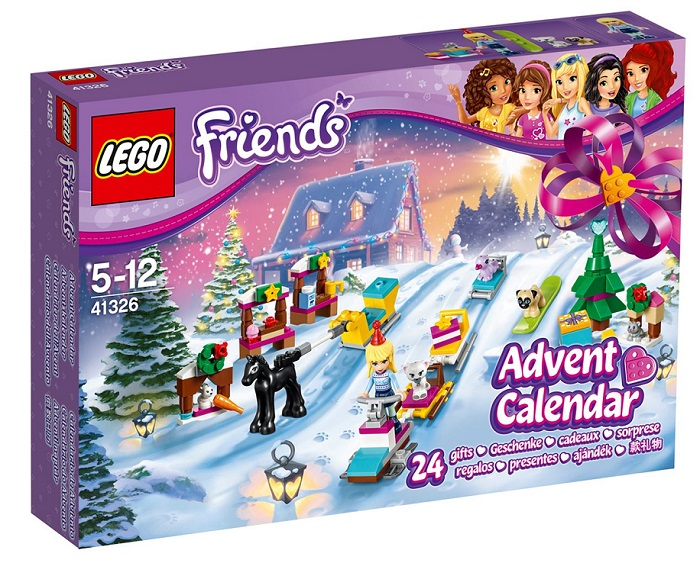 LEGO Friends Advent Calendar 2017 - Toy Advent Calendars for Kids