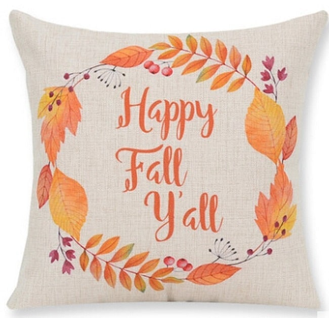 Fall Throw Pillow Ideas : 11 Easy Fall Decorating Ideas - Mommy Today Magazine