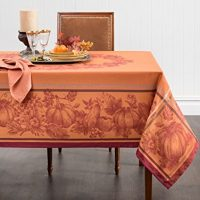 Harvest Jacquard Tablecloth - Elegant tablecloth for any seasonal or Thanksgiving table