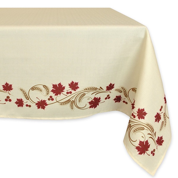 Harvest Wheat Tablecloth - Stylish Tablecloths for Thanksgiving