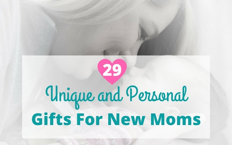 Unique and Personal Gifts for New Moms | Non Baby Gifts For New Moms #momgifts