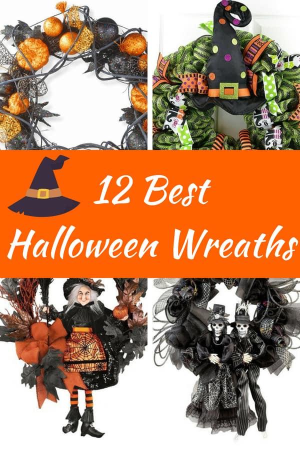 Best Halloween Door Wreaths - Halloween Decorations