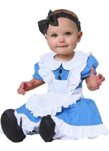 Alice in Wonderland Costume for Babies - Best Halloween Costumes For Babies