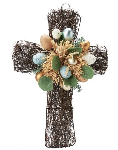 Easter Cross Wreath - Best Easter Wreaths