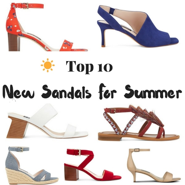 Top 10 New Sandals For Summer #summersandals