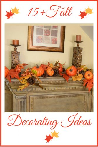 Fall Decorating Ideas - Easy Decor Ideas for Fall