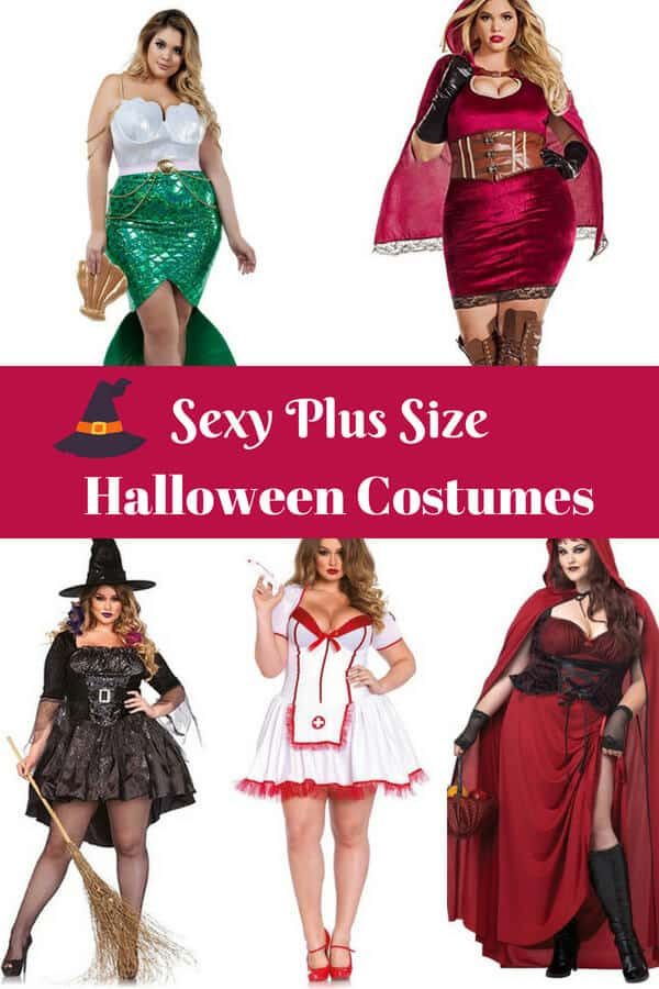 Sexy Plus Size Halloween Costumes - Super sexy Halloween Costumes for Curvy Gals