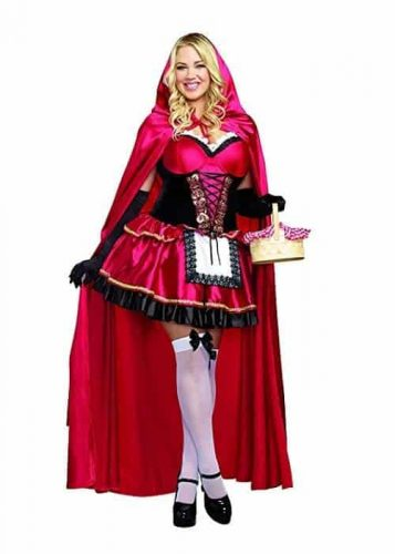 Women's Plus-Size Little Red Riding Hood Costume