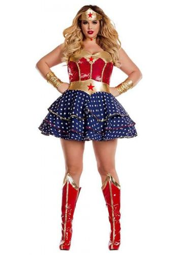 Wonderful Sweetheart Superhero Costume