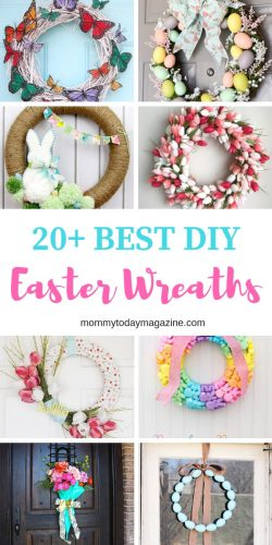 Best DIY Easter Wreaths
