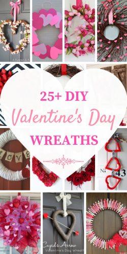 DIY Valentine's Day Wreaths - Best Wreaths to Make for Valentine's Day